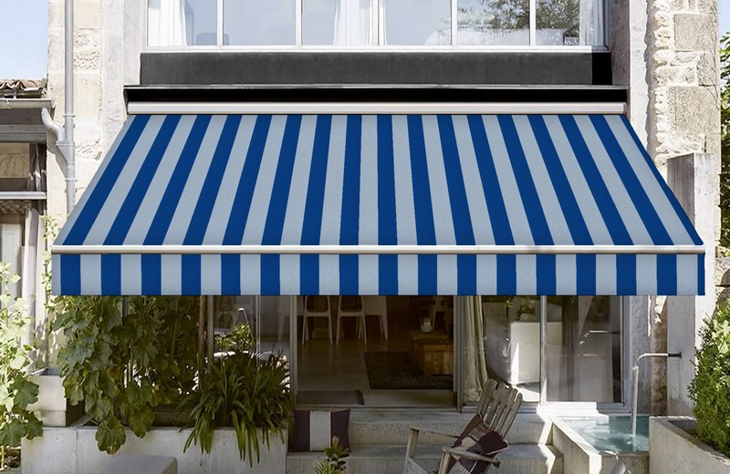 mavi renkli ithal akrilik tente kumaşı fiyat