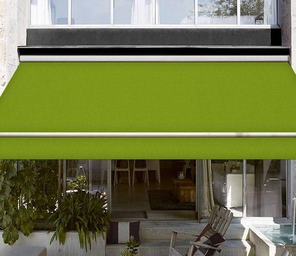 yeşil ithal akrilik tente kumaşı su geçirmez özellikli